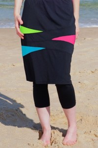 Hydrochic skirt with leggings