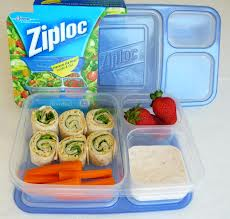 ziploc divided container