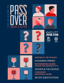 OU passover guide